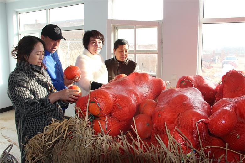 2万斤滞销南瓜捐赠福利院 杨巧云等企业家帮了瓜农献了爱心
